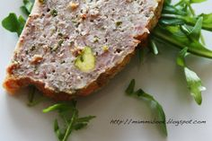 Mammabook: Polpettone con pistacchi - Meatloaf with pistachios