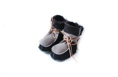 These traditional Polish mountain slippers have been keeping toes warm for a very long time. Polish Mountains, Baby Shoes, Clay, Boots, Winter, Clays, Crotch Boots, Winter Time, Baby Boy Shoes