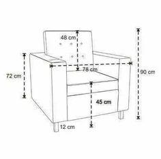 Sofa Furniture, Sofa Chair, Furniture Design, Desk Chair, Sofa Dimension, Human Dimension, Sofa Frame, Diy Sofa, Chair Design