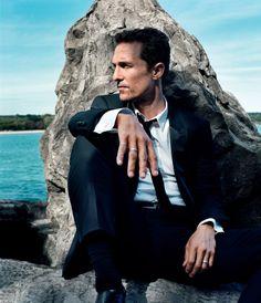 Matthew McConaughey photographed by ANTON CORBIJN