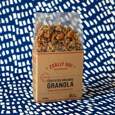 Certified Organic Granola from the one and only @zeallybaysourdough. Made by hand in small batches and full of nutritious, fresh ingredients including 'rolled gold' linseed and buckwheat – ZBS Granola is high in protein and essential minerals. It's fuel for new parents. A hint of spice and orange make this a delicious, wholesome everyday food, whether breakfast or a Seinfeld inspired midnight snack. You'll find it in our new parent parcel Organic Granola, Midnight Snacks, Seinfeld, Buckwheat, Coconut Sugar, Everyday Food, One And Only, Minerals, Protein