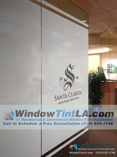 Window Decals Privacy Frost Adds Privacy And Style To Any Space - Window decals for dental office
