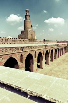 Ibn Tulun Mosque Cairo, Egypt