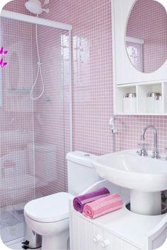 Banheiro ultra violet