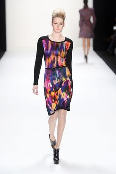 anja gockel fall '13  i've colored a print like this in the past...i like the argyle and floral feel