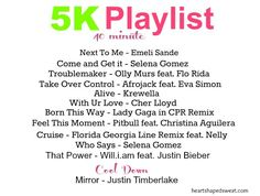 workout playlist, pop music for your workout