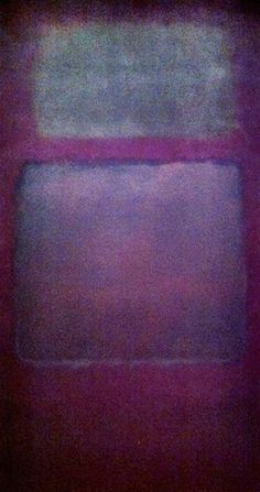 P L U M Painting : M.Rothko