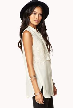 Meadow Lace Shirt