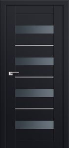 Milano-60U Black mat Interior Door