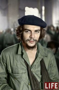 Che Guevara - 1959...............Colorized Photos from History................imgur.com
