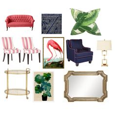 Shopping: Troop Beverly Hills Inspired Living Room - Entertain | Fun DIY Party Craft Ideas