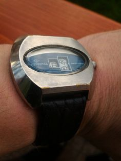 Continental Digital Jump Hour Retro 70's Watch