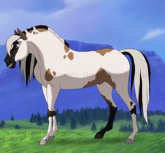 Stallion Of Spirit by KittyRain101.deviantart.com on @DeviantArt
