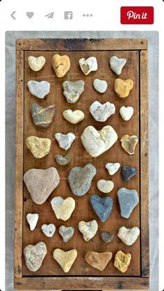 I have loved finding heart rocks & shells my whole life