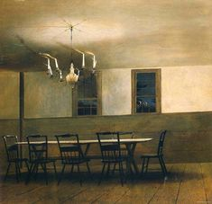 Andrew Wyeth, Witching Hour, 1977
