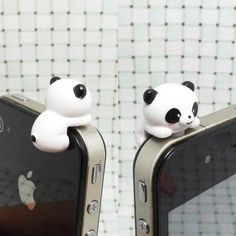 I found 'Cute White Black Hanging Panda Anti Dust Plug 3.5mm Phone Dust Stopper Earphone Cap Headphone Jack Charm for iPhone 4 4S 5 HTC Samsung' on Wish, check it out!