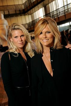 5 September 2013 — Alexandra Richards & her mother, Patty Hansen, at the Museum at FIT's 'Couture Council Honors Michael Kors' luncheon, David H. Medium Hair Styles, Short Hair Styles, Patti Hansen, Michael Kors, Layered Hair, Layered Bob Haircuts, Great Hair, Hair Today, Hair Dos