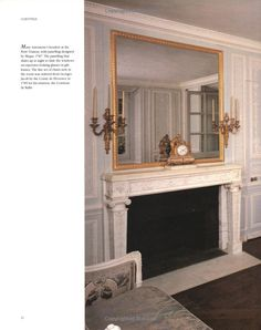 Louis Blue and Old White !! - Marie Antoinette's boudoir in the Petit Trianon