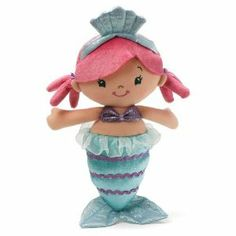 "Coralia Mermaid Doll 12"" by Gund by Gund. $22.99. Hand washable. For ages 1 and up. Measures 11 inches. GUND products are kid safe. '"