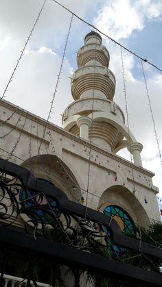 Mesquita en Maicao departamento de la Guajira en Colombia.