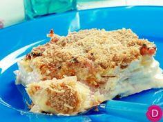 Πατάτες ογκρατέν με αμύγδαλο   Είμαστε Γυναίκες   Το απόλυτο γυναικείο περιοδικό Lasagna, Mashed Potatoes, Macaroni And Cheese, Ice Cream, Cooking, Ethnic Recipes, Desserts, Food, Whipped Potatoes