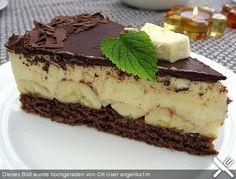 Bananen - Schokolade - Torte (Rezept mit Bild) von Sylv1802 | Chefkoch.de
