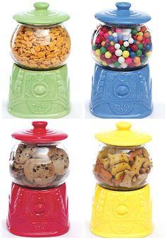 Vintage Gumball inspired Cookie Jars