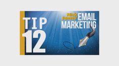 Mastering E-mail Marketing Tip #12: Ordering via Affiliates