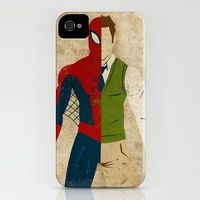Peter Parker iPhone Case | Society6  do they have other super heros too??? :D