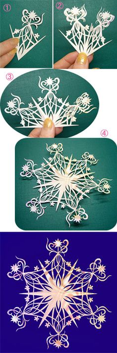 Japanese Kirigami Art By Syandery No.155 Venus http://blogs.yahoo.co.jp/syanderi/64693555.html