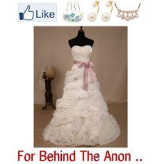"""Wedding Dress"" by doris009 on Polyvore"