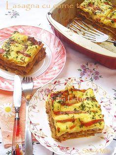 Lasagna cu carne tocata ~ Culorile din farfurie Lasagna, Ketchup, Avocado Toast, Quiche, French Toast, Breakfast, Food, House, Diet