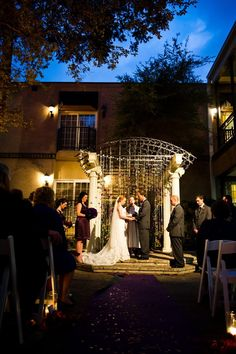 Outdoor Ceremony | Cory Ryan Photography https://www.theknot.com/marketplace/cory-ryan-photography-austin-tx-264590 | ILIOS Lighting, LLC https://www.theknot.com/marketplace/ilios-lighting-llc-austin-tx-249320 | Blush Bridal Lounge https://www.theknot.com/marketplace/blush-bridal-lounge-austin-tx-414285