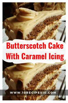Ingredients: 2 Cups Brown Sugar Cup Butter 1 teaspoon vanilla 2 Eggs 2 Cups Flour 1 teaspoon Baking Soda 1 teaspoon Baking Powder teaspoon salt 1 Cup Buttermilk How to make it: Preheat oven… Caramel Cake Icing, Butterscotch Cake, Caramel Cakes, Cake Recipes, Dessert Recipes, Yummy Recipes, Cherry Recipes, Muffin Recipes, Pastries