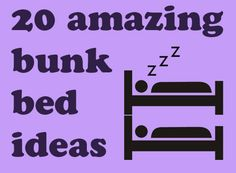 bunk beds ~ Matthew's room