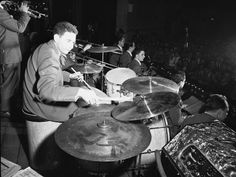 Shelly Manne (born Sheldon Manne, he was an American jazz drummer. Most frequently associated with West Coast jazz, he was known for his versatility and also played in a number of other styles, including Dixieland, swing, bebop, avant-garde jazz and fusion, as well as contributing to the musical background of hundreds of Hollywood films and television programs.)