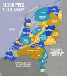 Stereotypes of The Netherlands. They got the frugal part right