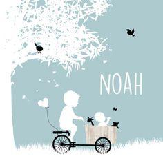 Wow wat een super lief geboortekaartje is dit voor de geboorte van jullie tweede kindje! Uiteraard kunnen de silhouetjes gewijzigd worden, net hoe jullie gezinssamenstelling is. Ook kun je kiezen uit andere...
