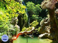 Het klimaat van Griekenland Waterfall, Destinations, Viajes