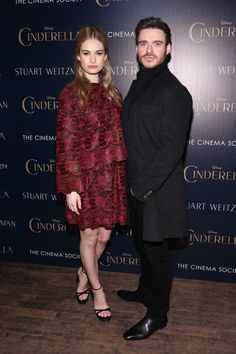 "Richard Madden Photos: The Cinema Society And Stuart Weitzman Host A Special Screening Of Disney's ""Cinderella"""