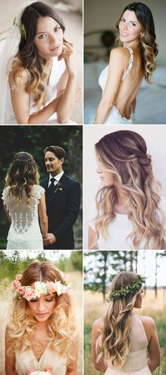 The Prettiest Wedding Hair Trends for 2016 - Ombre Waves