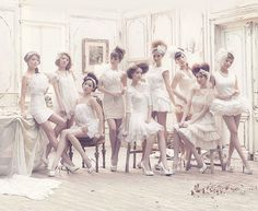 SNSD are the Flowers in the Forest.