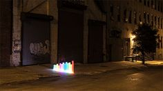 Light Painting Evolved: Introducing the PixelstickDesigned by Duncan Frazier and Steve McGuigan of Brookyln-based BitBanger Labs, the Pixelstick is a fancy new gadget for creating long-exposure light.