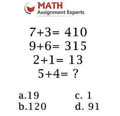 Can you solve this one?  Get Math help @ http://mathassignmentexperts.com/