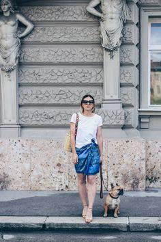 Kleid als Rock tragen, Paisley Kleid, Print Shirt, Summer Capsule Wardrobe Outfits, Birkin Basket, Strap You Guitar, Fashion Blog, Outfit Blog, Modeblog, Style Blog, www.whoismocca.com