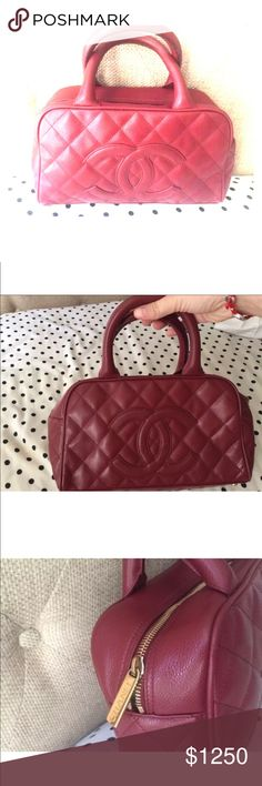 Auth Chanel small bowler bag Excellent used condition. Perfect for any  event. Wear with 7bb6edff13