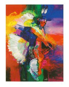 """John Nieto  """"Fancy Dancer I and II"""""""