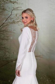EBBL239 | Emma Bridals Bonfire Night Wedding, Designer Flower Girl Dresses, Bridal Gowns, Girls Dresses, White Dress, Bridesmaid, Fashion, Bride Dresses, Dresses Of Girls