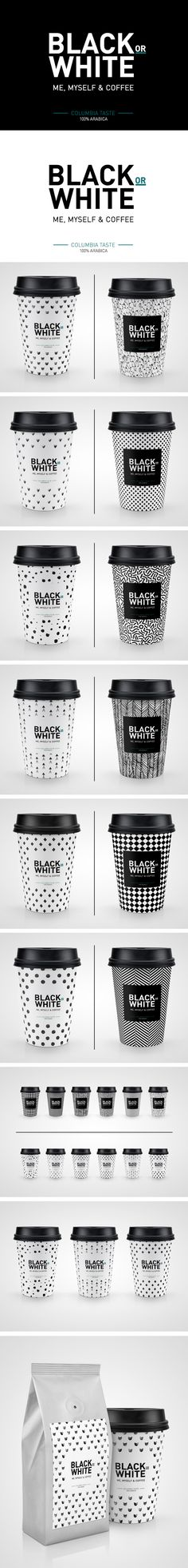 Black or White Coffee Mock-up on Behance PD