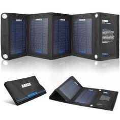 Cargadores solares para Smartphones y Tablets